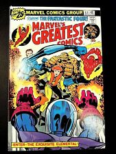 MARVEL'S GREATEST COMICS 63 (5/76 5.0 non-CGC) LEE/KIRBY CLASSIC! INHUMANS!