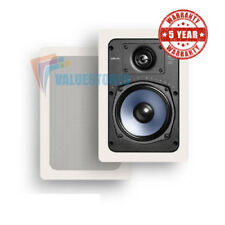 Polk Audio RC55i Compact Audiophile In-Wall Speaker with 5 1/4 inch driver PAIR
