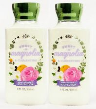 2 Bath & Body Works SWEET MAGNOLIA & CLEMENTINE Hand & Body Lotion NEW!