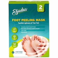 Top Foot Peel Exfoliating Mask Effective Peeling Gel Purederm SPA 2 Pairs