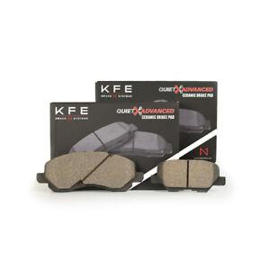 For Mitsubishi Outlander Sport FRONT REAR Ceramic Disc Brake Pad Set KFE866-1679