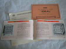 vintage catalogue 1934 Ideal cookers and ranges enamel gas wood and coal