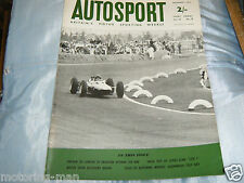 JIM CLARK MEXICAN GRAND PRIX 1963 LOTUS 25 CLIMAX F1 JACK BRABHAM RICHIE GINTHER