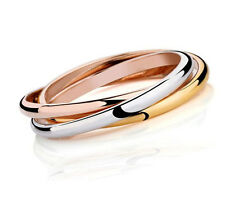Stainless Steel Narrow Triple Bangle Set