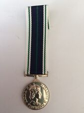 MEDAL INSIGNIA BRITISH ROYAL NAVAL AUXILIARY SERVICE MEDAL MINIATURE