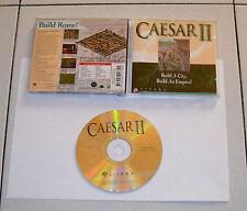 Gioco Pc Cd CAESAR II 2 – Sierra 1995  PERFETTO Roma Rome