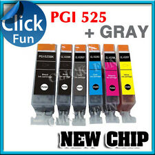 12x Ink Cartridge PGI525 CLI526 +GY for Canon MG 6150 8100 MG6250 MG8250 Printer