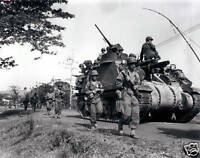 B&W WWII Photo US Army M7 Priest in Phillipines  WW2 World War Two Pacific