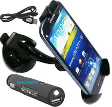 Soporte para teléfono de Soporte de Coche Scosche USB Coche Cargador Galaxy Fame, S3 S4 S5 Mini, joven