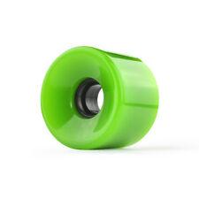 Neon Green Longboard Skateboard WHEELS 76mm (Set of 4)