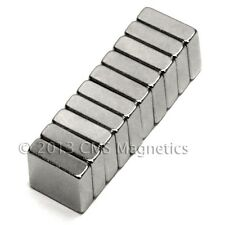 "CMS Magnetics® 500 pieces Neodymium Magnets N45 3/8x3/8x1/8"""