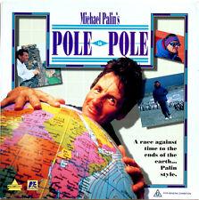 POLE TO POLE Michael Palin  Documentary  Laserdisc LD NTSC