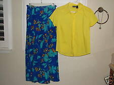 NEW Coldwater Creek skirt and Mossimo top sz.M~SO CUTE~