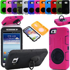 Shock Proof Heavy Duty Hybrid Armor Hard Case Cover Build-in Screen Protector