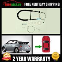 VW Volkswagen Beetle Cabriolet Convertible Rear Left Window Regulator Repair Kit