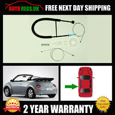 Volkswagen Beetle Cabrio VW Convertible Rear Left Window Regulator Repair Kit