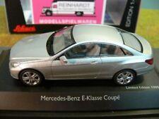 1/43 Schuco MB E-Klasse Coupe silber 450736100