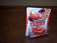 DISNEY - PIXAR - CARS  - LIGHNING MC QUEEN WITH CONE - CARD NICE CONDITION - NEW