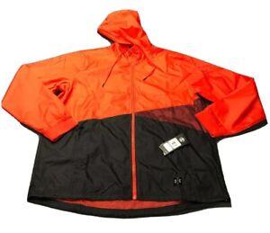 Under Armour Full Zip Hooded Running Jacket (XXL, Orange)(NWT) MSRP $100