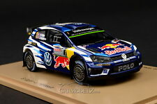 Spark 1/43 Volkswagen Polo R WRC #1 Last Race Australia 2016 S4971