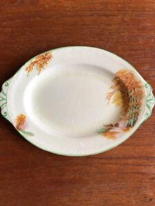"J&G MEAKIN 1930's ""Autumn Gold"" Small Platter / Sandwich Tray RARE"