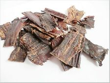 <500g > Dried FLAT Beef Throat / Gullet, dogs treats, jerky 100% NATURAL