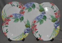 Set (5) Savoir Vivre MEADOW SPLENDOR PATTERN Dinner Plates JAPAN
