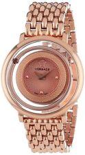 Versace Venus Ladies PVD Rose Gold Plated Watch VFH050013