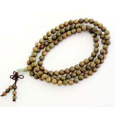 Tibet Buddhist 108 SandalWood Prayer Beads Mala Necklace