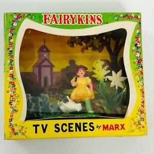 Vintage Marx Fairykins Mary Little Lamb TV Scenes HK 6216 Nursery Rhyme Tale