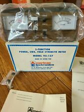 AMERICAN ELECTRONICS MODEL 95-137 3-FUNCTION POWER SWR FIELD STRENGH METER