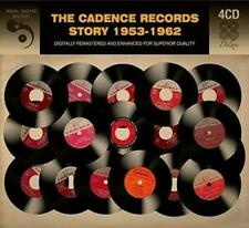 THE CADENCE RECORDS STORY 1953-1962– V/A 4xCDs (NEW) CHORDETTES EVERLY BROTHERS