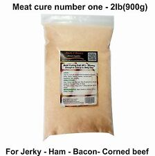 Meat Cure Salt #1 (6.25%) - 2lb Jerky Ham & bacon, Insta-cure, pink salt, Curing