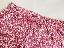 Pyjamahose lang von Vivance Dreams chic in der Farbe Beere Gr. 44/46