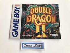 Notice - Double Dragon II 2 - Nintendo Game Boy - NTSC USA