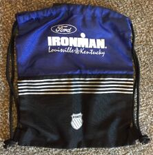 Heavy Duty Ironman Triathlon World Championship Bag with Pull Cords - Kswiss