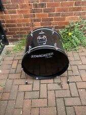 """More details for free p&p. 22"""" starcaster bass drum. black finish. 22x16"""" bd1090781"""