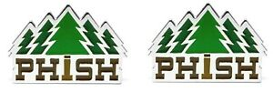 Phish Timber Pin [Set of 2 Pins] Memorabilia Emblem Pine Trees Logo Lapel-pins