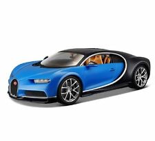 Bburago 1:18 Bugatti Chiron Blue Diecast Model Racing Car Vehicle Toy New in Box