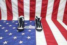 Chaussures Converse All-Star Hautes En daim Noir N.41Cod. SS746Scarpette Homme