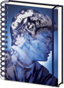 Harry Potter (Magic Portrait) 3D Cover A5 Wiro Notebook * OFFICIAL*