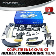 GENUINE MACHTER TIMING CHAIN KIT & GEARS FOR HOLDEN COMMODORE VZ VE VF V6 3.6L