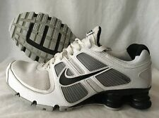 Nike Shox Flywire Shoes Men's Size 7.5 White Black