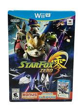 Star Fox Zero + Star Fox Guard (Wii U, 2016)  *BRAND NEW AND SEALED*