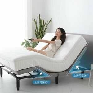 3Years Warranty Electric adjustable Height bedframe FullSize+Gel Memory Mattress