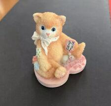 Calico Kittens Valentine's Day Mini Resin Figurine I Love My Kitty Style 155527