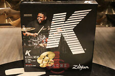 Zildjian K Box Set K0800 Cymbal Pack (16C-20R-14HH+Free 18C) - Demo!