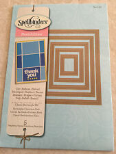 Spellbinder Nestabilities Dies CLASSIC RECTANGLE SMALL S4-130 New