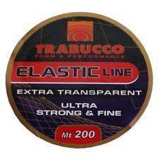 FILO ELASTICO X ESCHE Trabucco Elastic Line 200MT