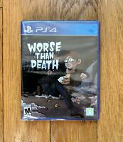 Limited Run #340: Worse Than Death (PS4) -  NEUF / SCELLÉ
